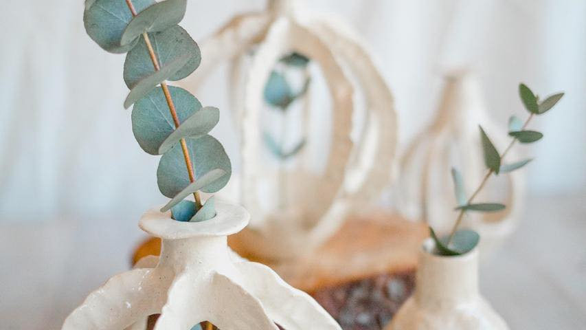 Organic Open Vases- Marisa Du toit