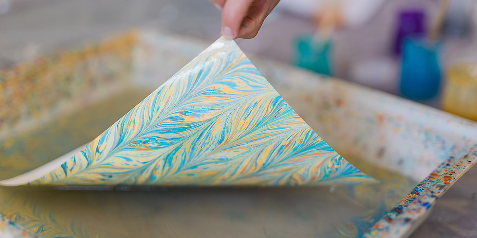 Introduction to Western Paper Marbling Workshop (R600)