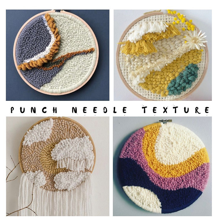 Punch Needle Workshop with Christel (R695)