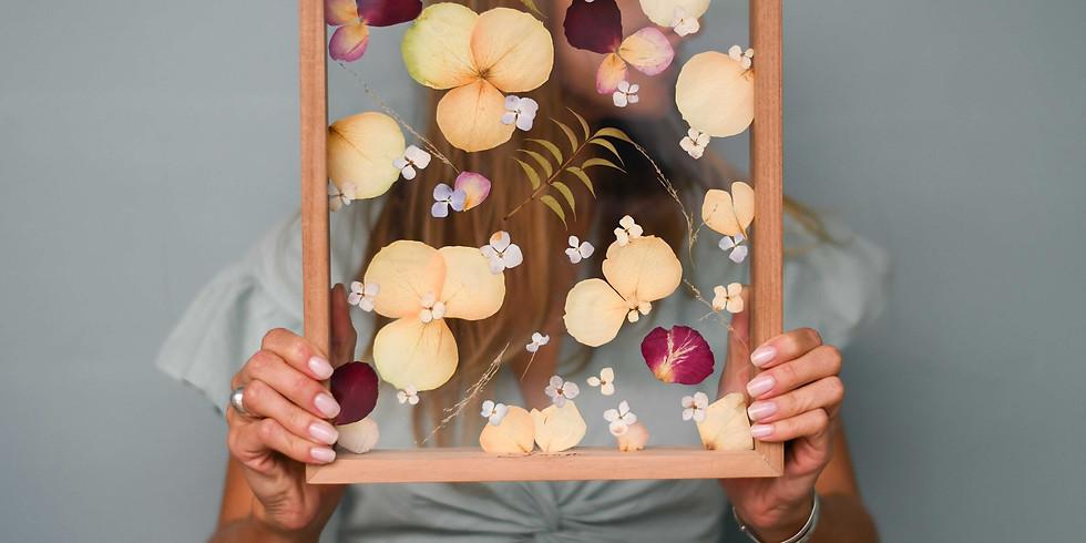 Flower Framing Worskshop with Skaam