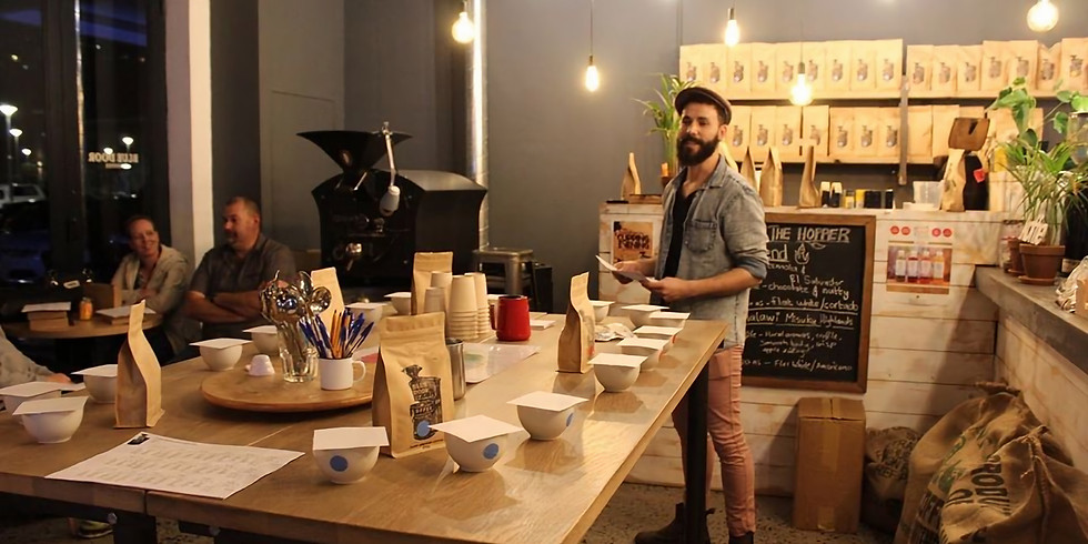 Coffee Cupping with Blue Door Roasters R250.00