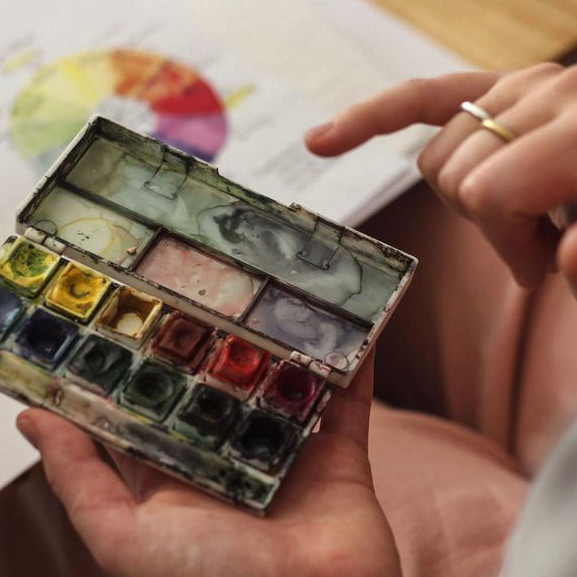 Watercolour Landscapes with Dayna Gay R480
