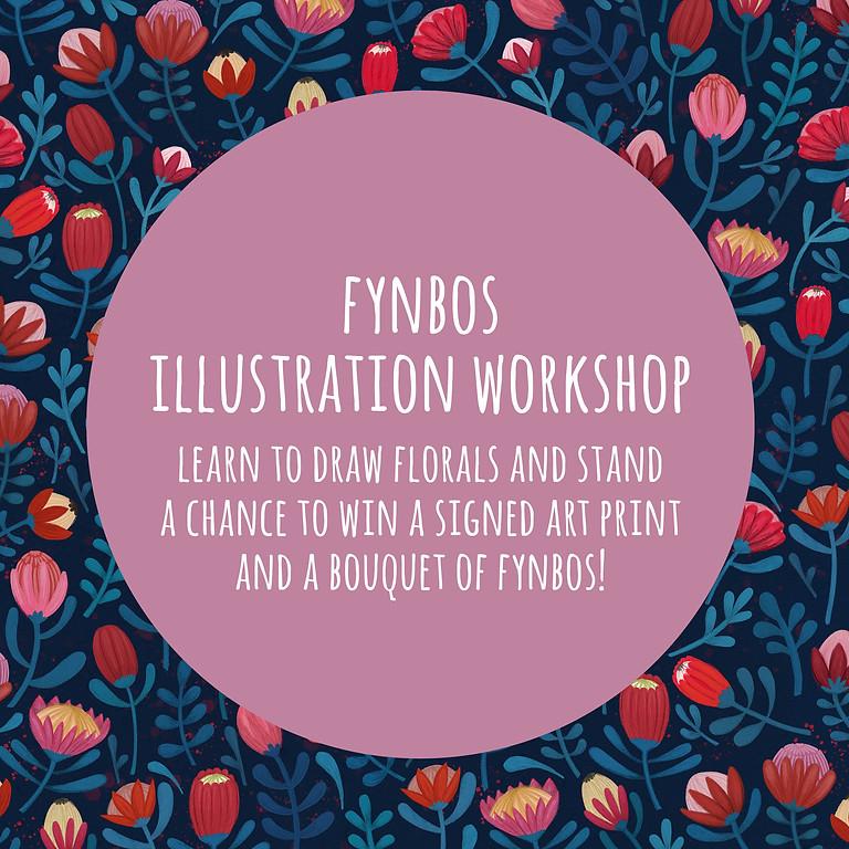 Fynbos Illustration with Karen Vermeulen