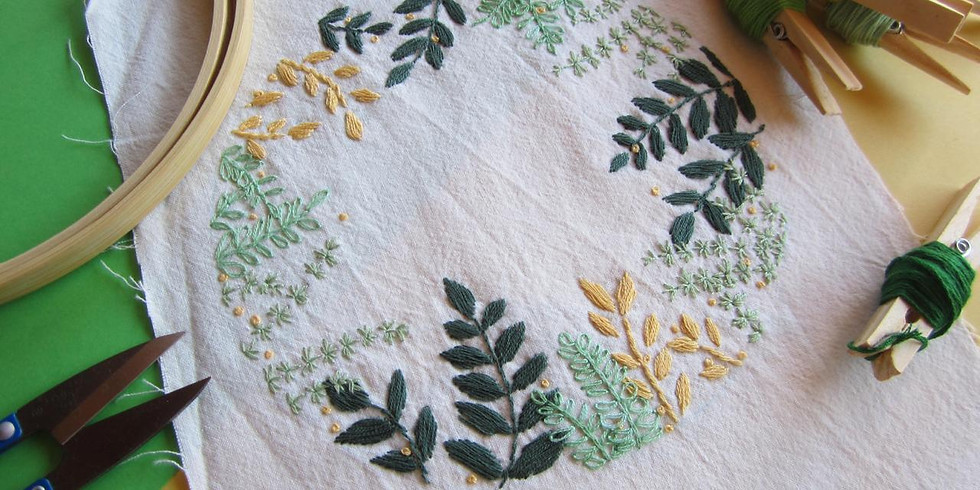 Floral Embroidery (3 hours)