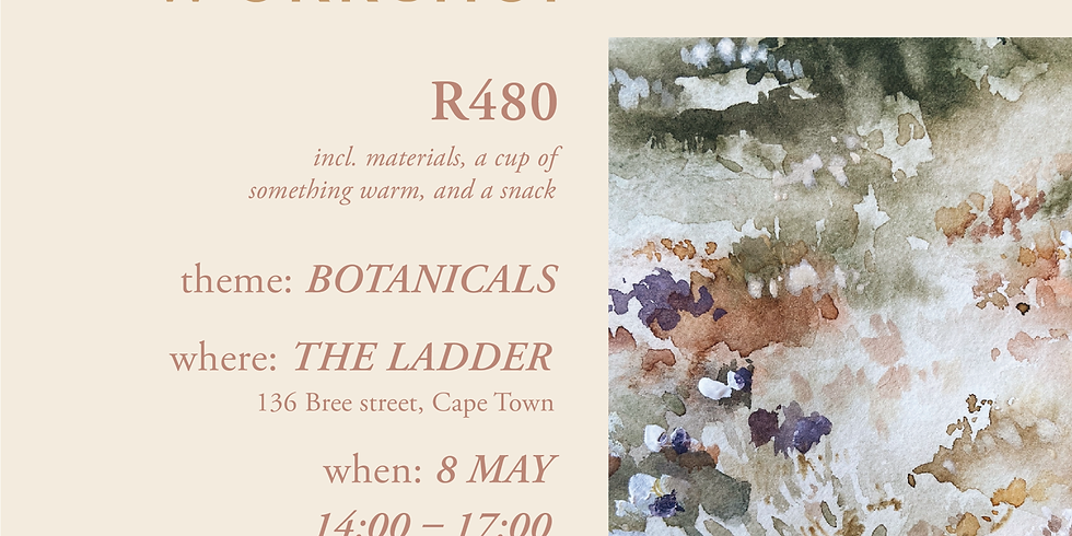 Watercolour Botanicals with Dayna (R480)