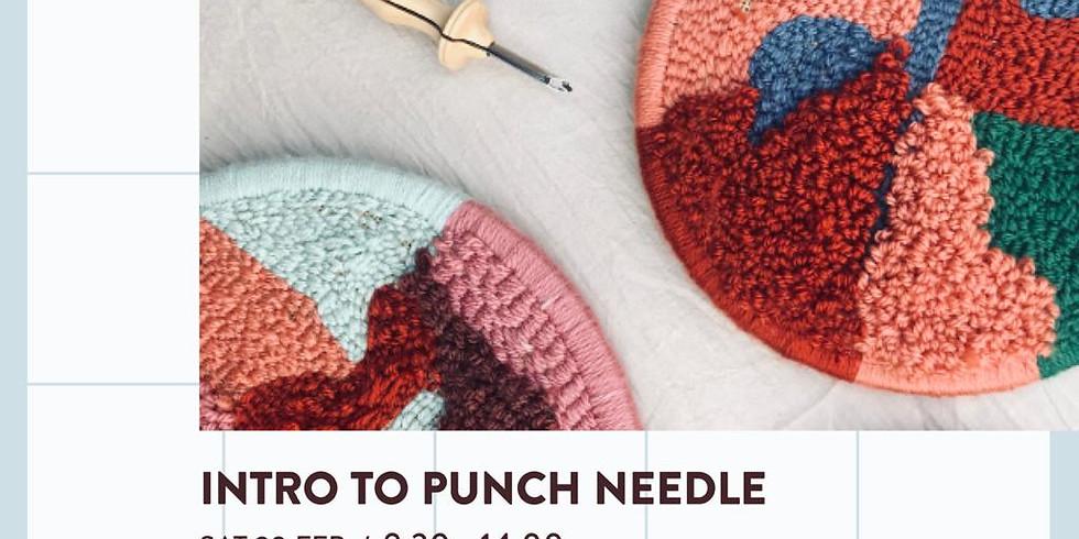 Punch Needle Workshop