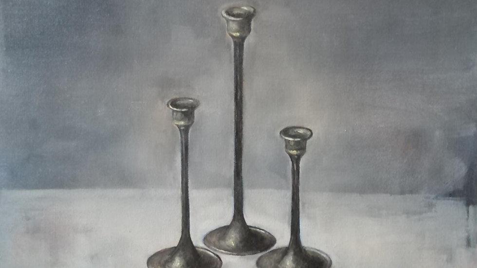 Three Candle Sticks- Michael Tiets-Geldenhuys