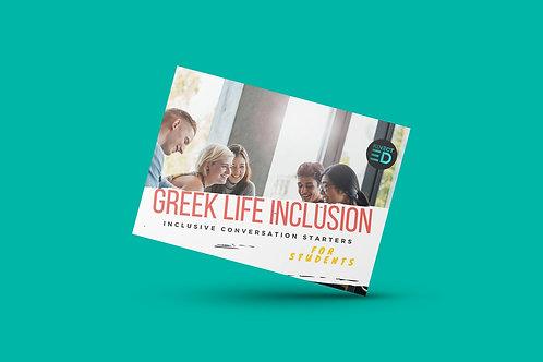 Greek Life Inclusion Deck