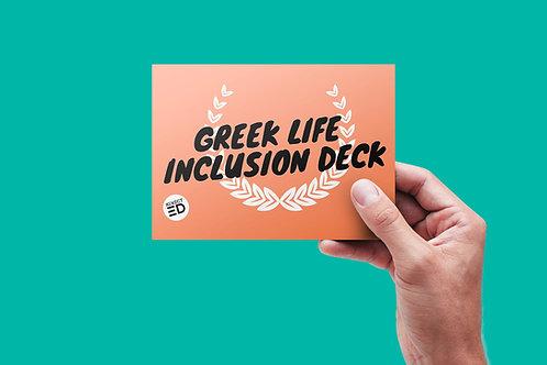 Greek Life Dialogue Deck