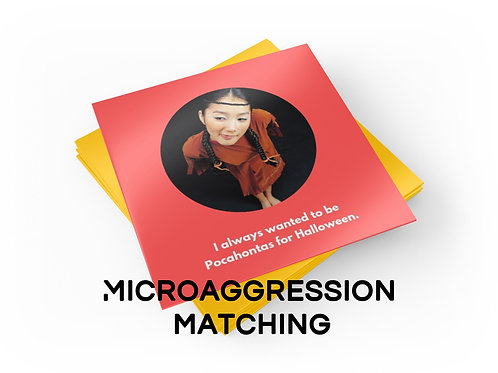 Microaggression Matching Game