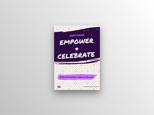 Empower and Celebrate Poster