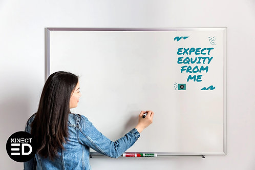 White Board Passive Ed Posters
