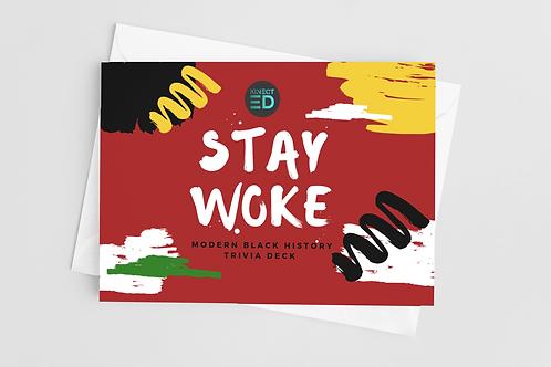 Stay Woke! Modern Black History Month Trivia Deck