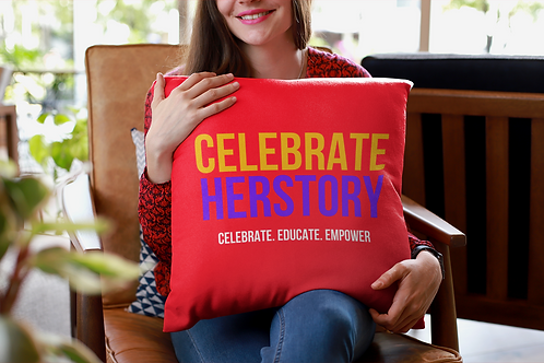 Celebrate HERstor Office Pillow