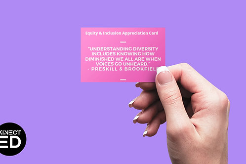 Equity Appreciation Cards