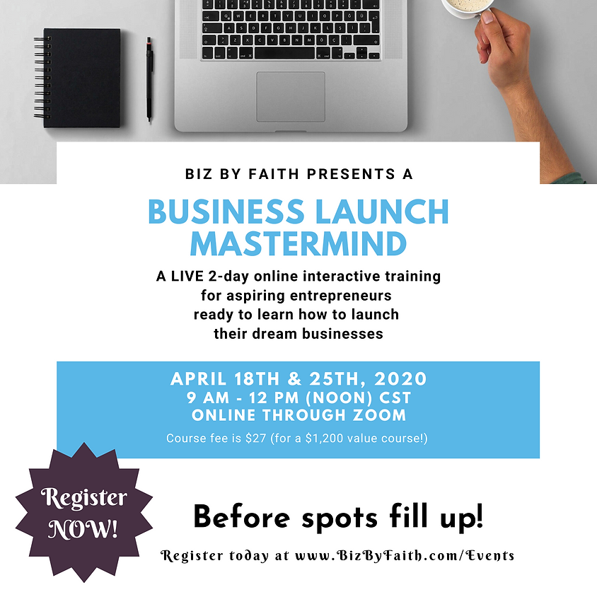 Business Launch Mastermind