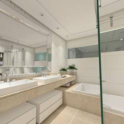 Banho suíte  #banheironovo #banheirodecorado  #project