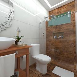 Reforma de banheiro!!! #reforma #banheirodecorado #banheironovo