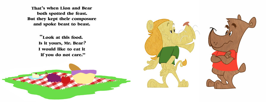 'The Lion, The Bear & The Fox: Page 05-06'