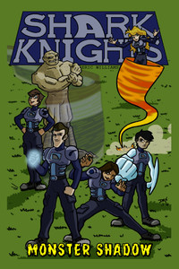 Shark Knights: Monster Shadow (Front Cover)