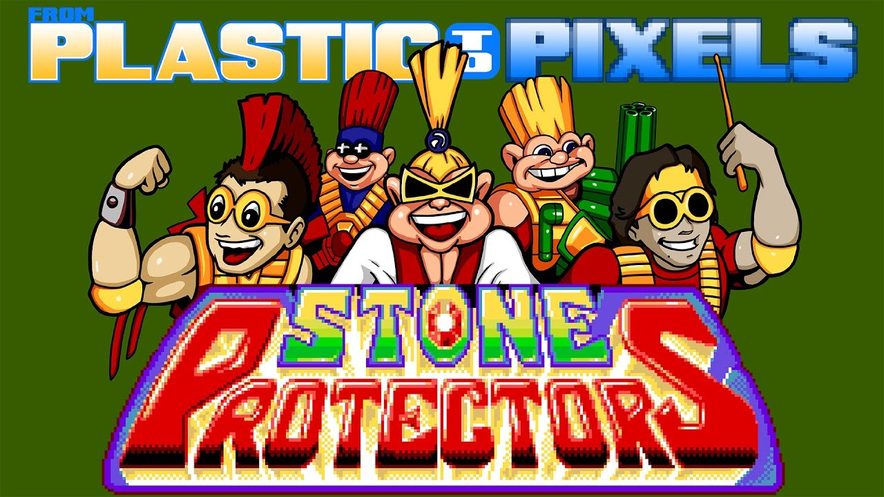Stone Protectors Title Card
