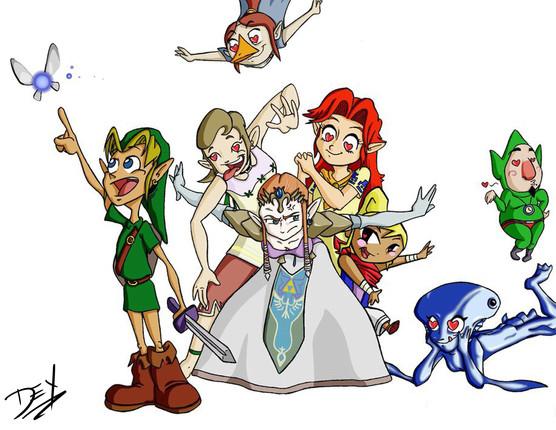"Link Love (11"" x 17"")"