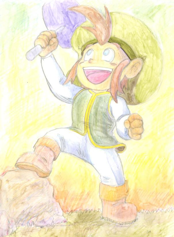 """Ichi Found A Hammer (8.5"""" x 11"""")"""