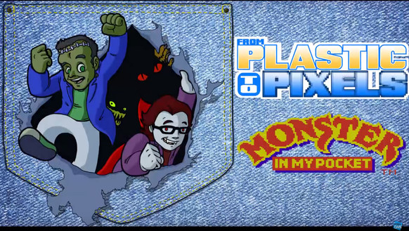 Monster In My Pocket Title Card