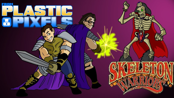 Skeleton Warriors Title Card