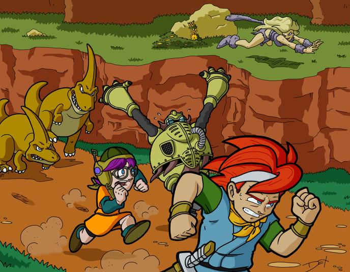 "Chrono Trigger: 65,000,000 B.C. (8.5"" x 11"")"