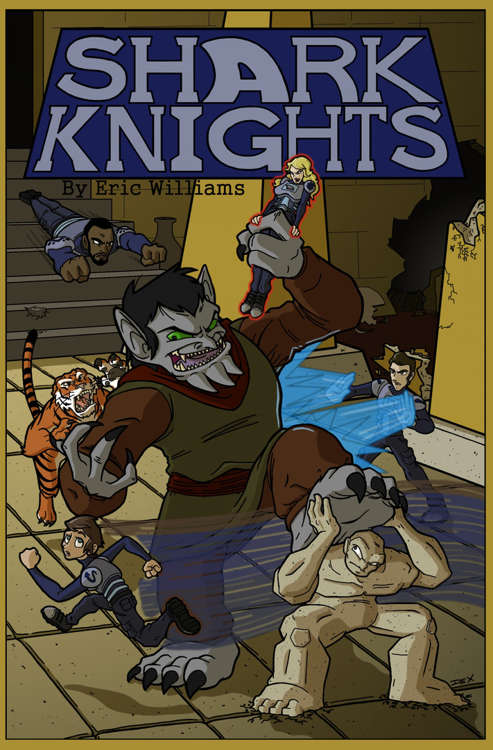 Shark Knights (Front Cover)