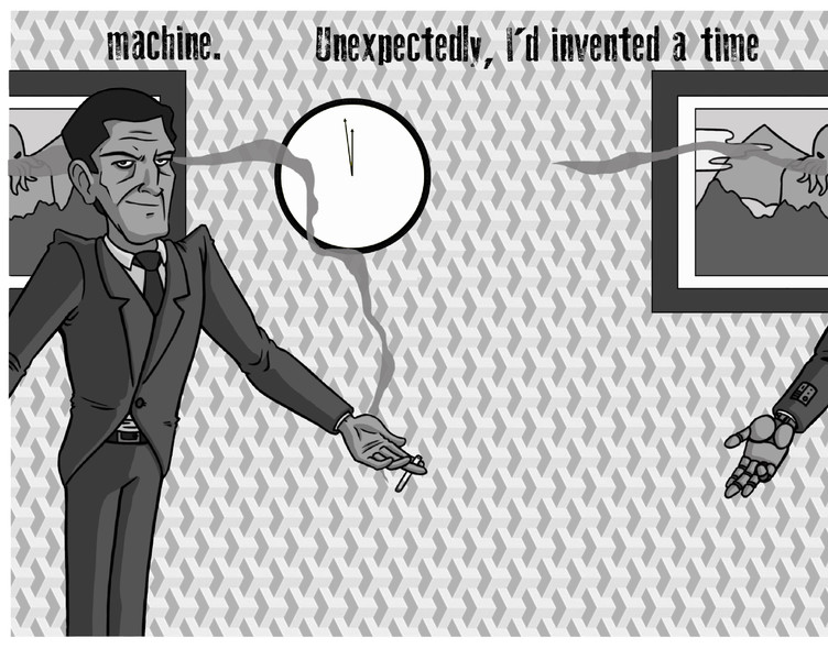 'Alan Moore Micronovel Illustration'