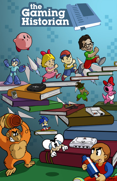 'The Gaming Historian (Promo Poster)'
