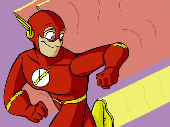 "The Flash (11"" x 17"")"