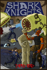 Shark Knights: Dead End (Front Cover)