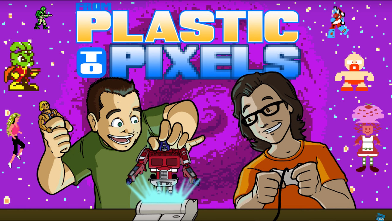 'From Plastic to Pixels Title Card'