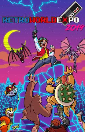 'Retro World Expo 2019 (Promo Poster)'