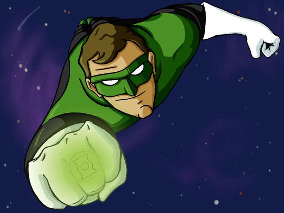 "Green Lantern (11"" x 17"")"