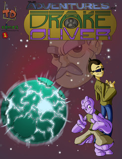 The Adventures of Drake & Oliver #1 Cover