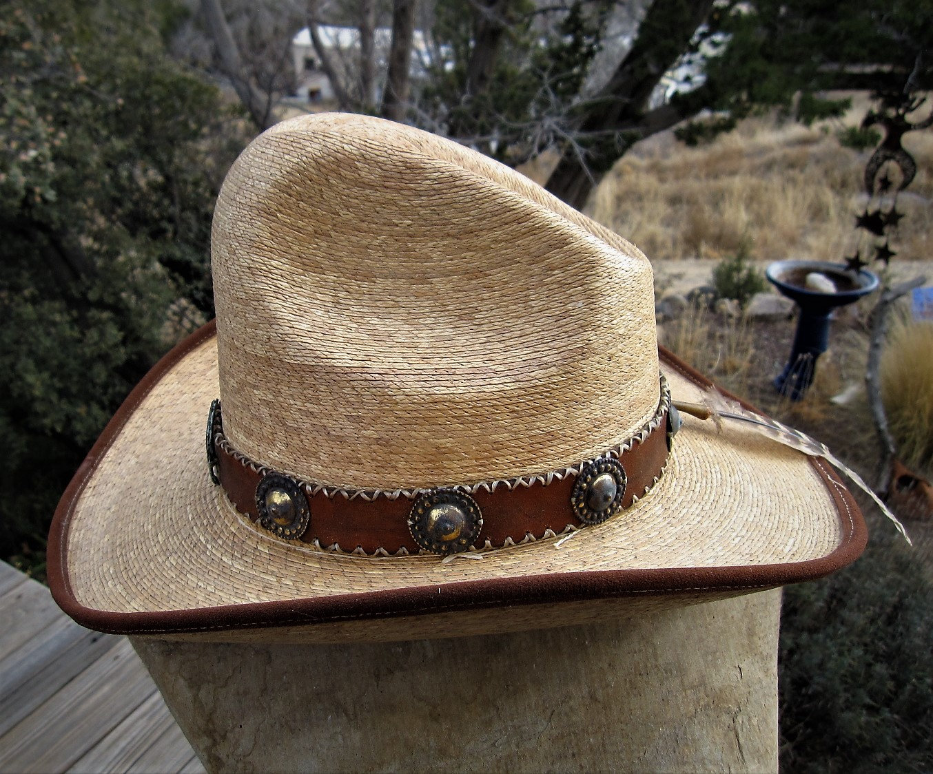 Viva Mexico Vintage Straw Hat