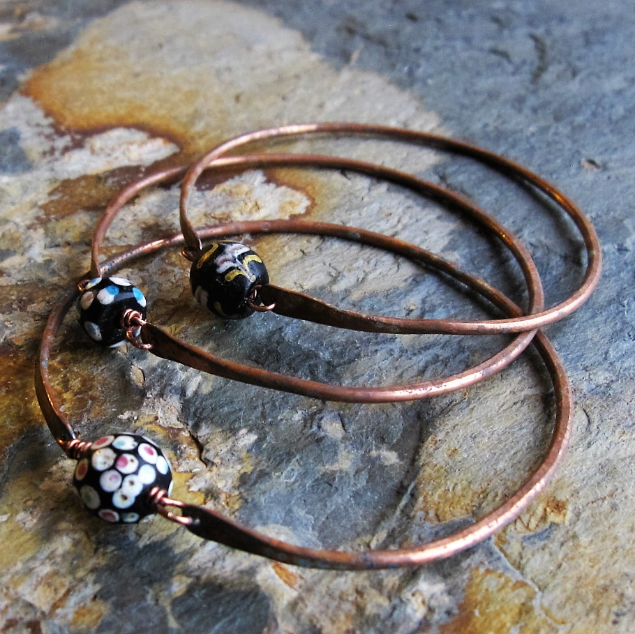 Trade Bead Bangles