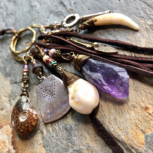 Elk Medicine + Talisman + Necklace