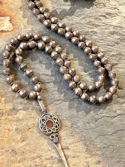 Antique Ethiopian Prayer Bead Necklace