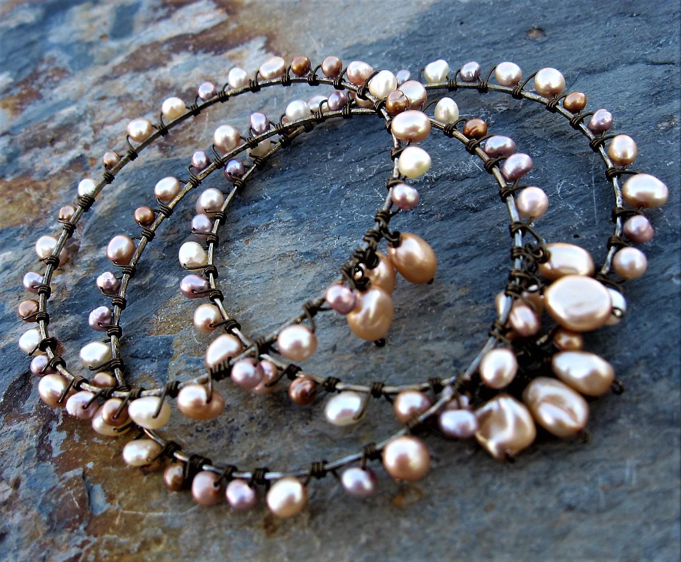 Pearl Bangles