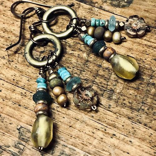 Earth Walker Artisan Earrings