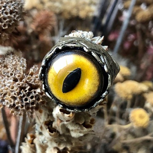 Cats Eye Cocktail Ring