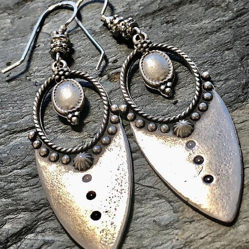 Turkish Silver + Earrings