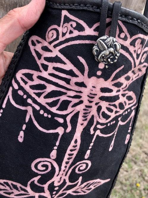 Dragonfly + Shoulder Bag + Buckskin