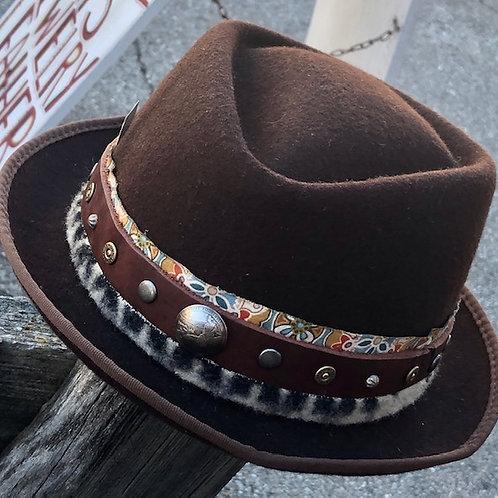 Wool Skinny Brim Hat