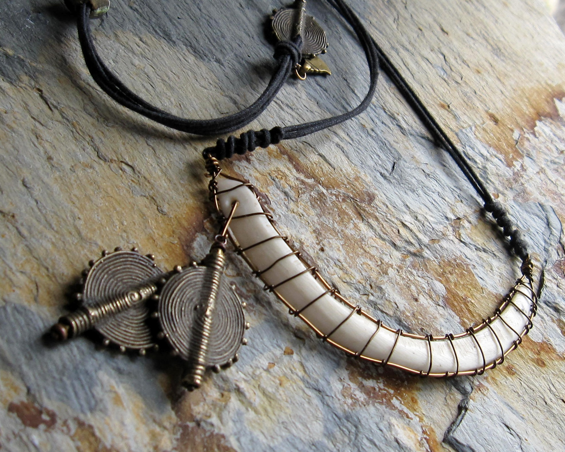Boars Tooth Necklace